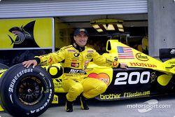 Жан Алези празднует 200-й Гран При
