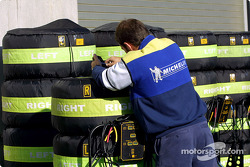 Prêt pour la course chez Michelin