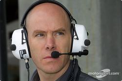 Jock Clear, ingénieur de course de Jacques Villeneuve