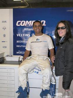 Juan Pablo Montoya et sa compagne Connie