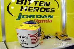 El casco de Jarno Trulli