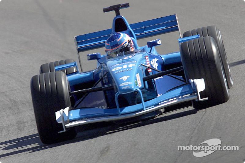 Jenson Button en el GP de Estados Unidos