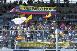 Aficionados a Juan Pablo Montoya