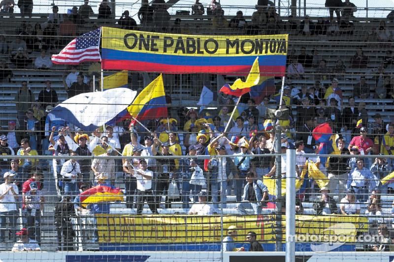 Juan Pablo Montoya's supporters