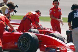 Механики команды Ferrari
