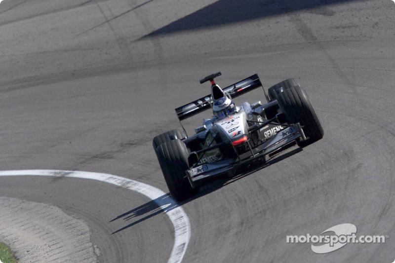 Mika Hakkinen wint zijn laatste Grand Prix