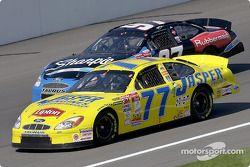 Robert Pressley and Kurt Busch