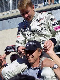 Mika Hakkinen et Jo Ramirez