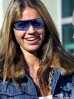 Simone, petite amie de David Coulthard