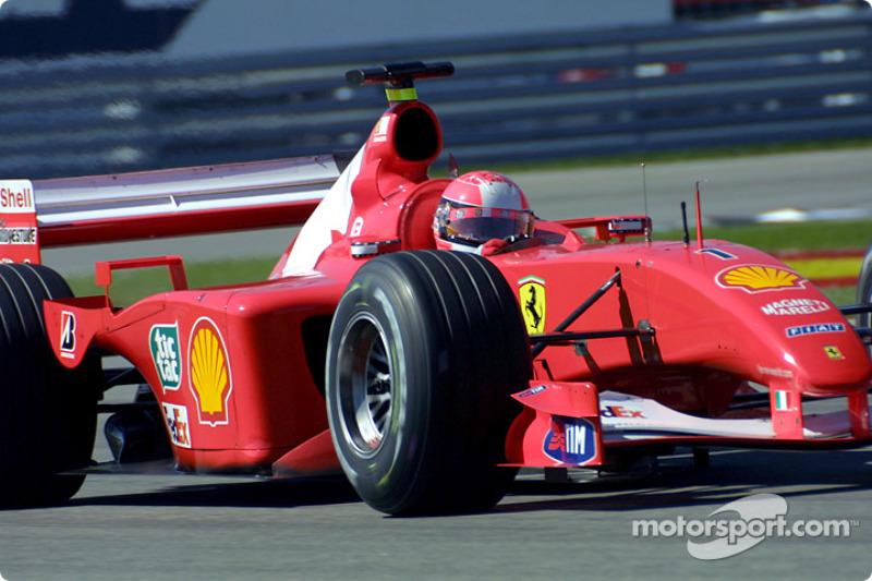#42 GP des États-Unis 2001 (Ferrari F2001)