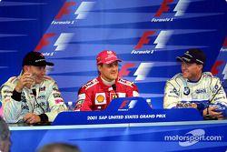 Conferencia de prensa: Mika Hakkinen, Michael Schumacher y Ralf Schumacher
