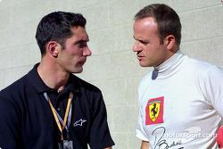 Max Papis et Rubens Barrichelloà