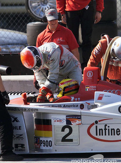 Driver change: Frank Biela takes over from Emanuele Pirro