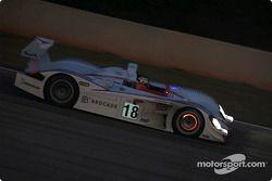 Stefan Johansson in the Johansson Audi R8 #18