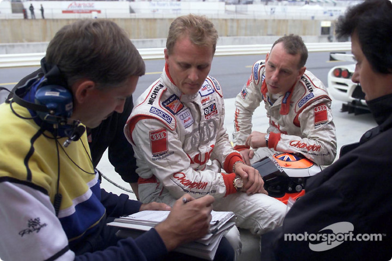 Johnny Herbert and Andy Wallace