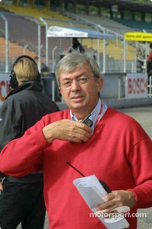 Roland Bruynserade, directeur de course