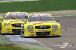 Christian Abt, Abt Sportsline, Abt-Audi TT-R; Mattias Ekström, Abt Sportsline Junior, Abt-Audi TT-R