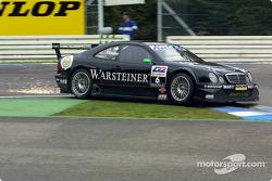 Marcel Fässler, Warsteiner AMG Mercedes, Mercedes-Benz CLK-DTM