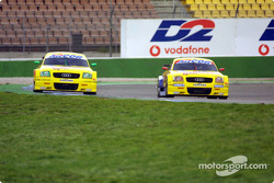 Martin Tomczyk, Abt Sportsline Junior, Abt-Audi TT-R; Laurent Aiello, Abt Sportsline, Abt-Audi TT-R