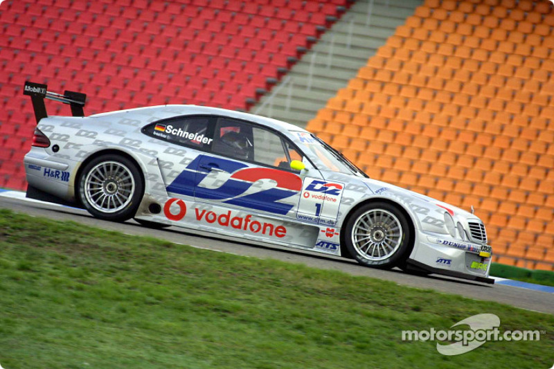 2001 (машина чемпиона и титул конструктора): Mercedes-Benz CLK-DTM