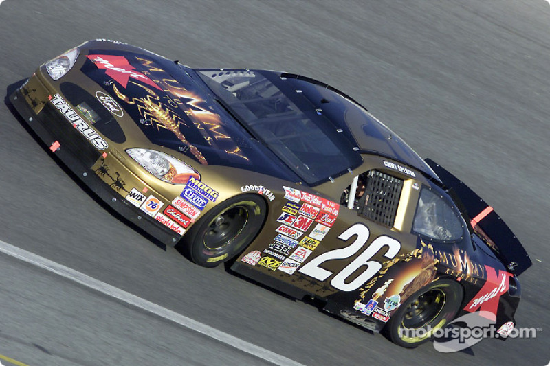 Jimmy Spencer en el Mummy Returns Ford Taurus