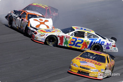 Ricky Craven pris dans un accident