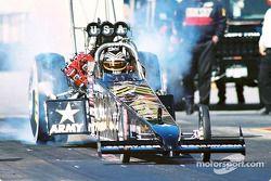 Tony Schumacher ran a 333.08 mph during the qualifying