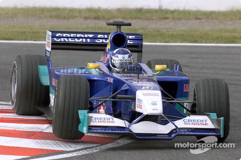2001: Sauber-Petronas C20 (один подиум, 4-е место в КК)