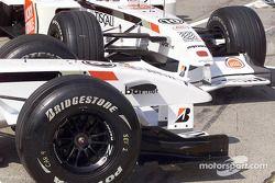 Sesión de fotos del British American Racing