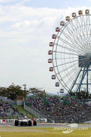 Escenario en Suzuka