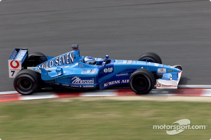 Giancarlo Fisichella en el GP de Japón