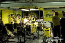 Garage del Equipo Jordan