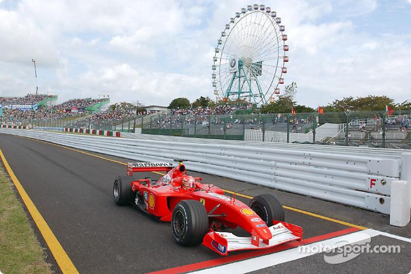 43. Japón 2001, Ferrari F2001
