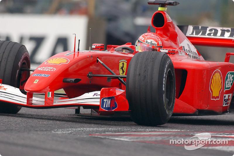 #43 GP du Japon 2001 (Ferrari F2001)