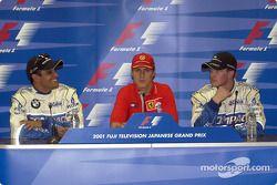 Conferencia de prensa: Juan Pablo Montoya, Michael Schumacher y Ralf Schumacher