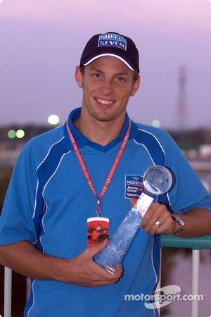 Premio de internet para Jenson Button