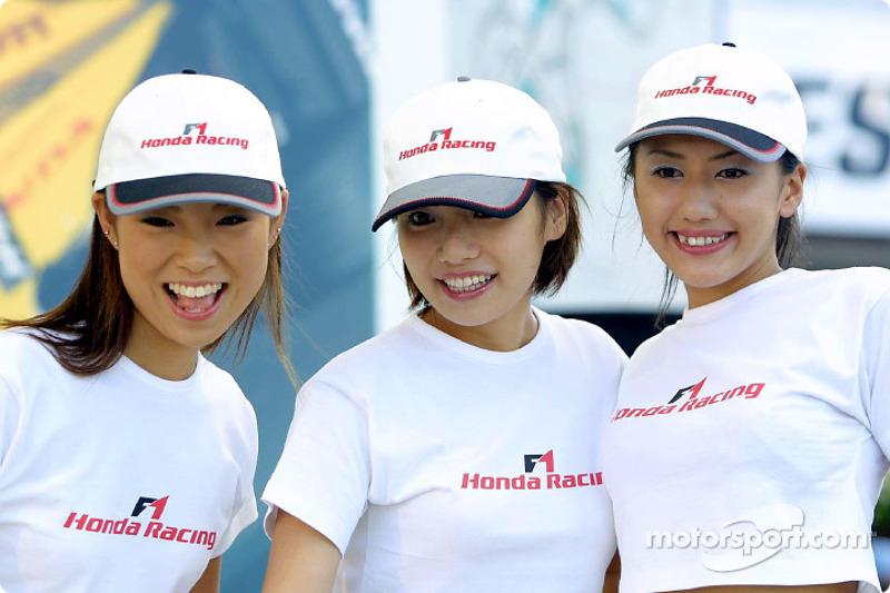 Honda Racing hospitality