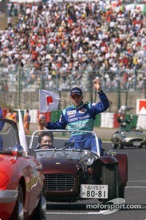 Desfile de pilotos: Nick Heidfeld