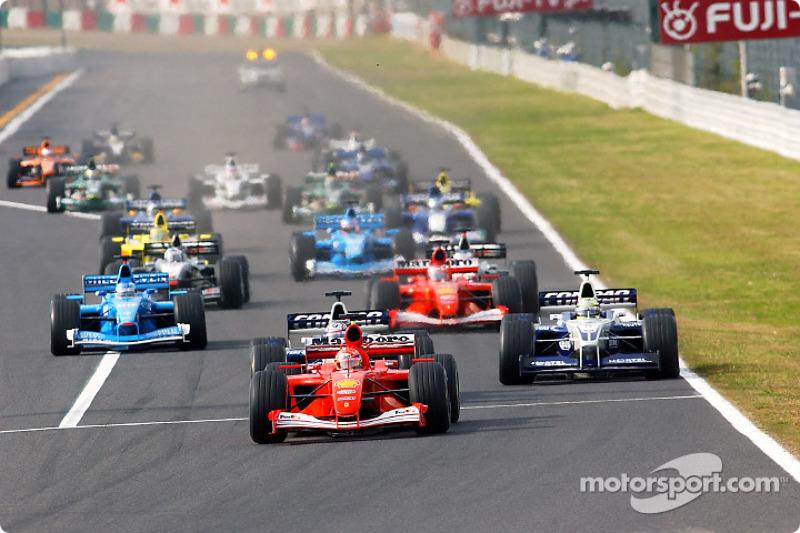 2001 Japanese GP, Ferrari F2001