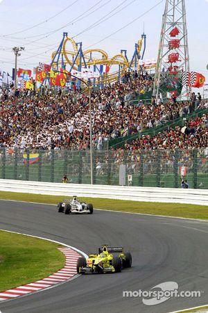 Jarno Trulli y Jacques Villeneuve