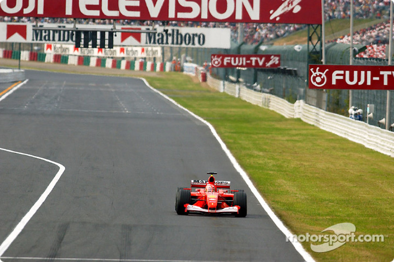 2001: Michael Schumacher, Ferrari