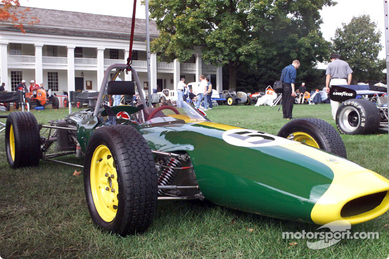 A 1965 Ford Powered Lotus 51 One Of 190 Vintage Ford Racing Cars On