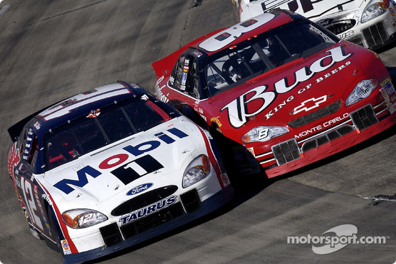 Mike Wallace and Dale Earnhardt Jr.