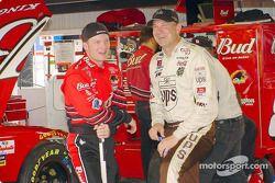 Dale Earnhardt Jr. et Dale Jarrett