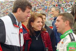 Hermie Sadler with Mr. and Mrs Allen
