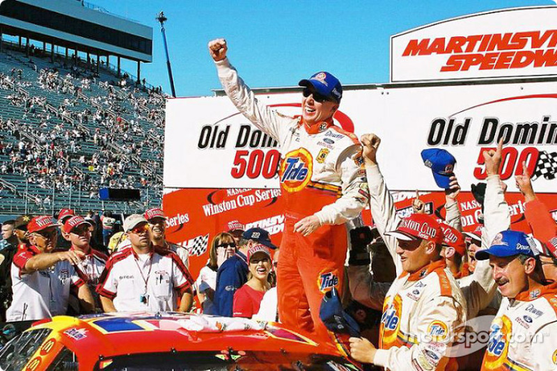 5. Ricky Craven's first win in 2001