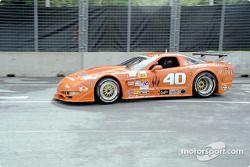 Justin Bell, #40 Corvette