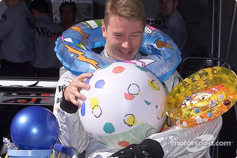 Déjà Noël pour Mika Häkkinen