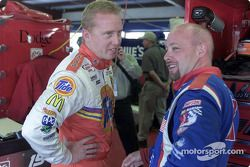 Ricky Craven y Todd Bodine