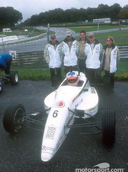 David Lloyd y el equipo